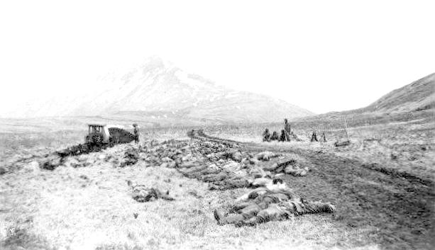 The Battle at Engineer Hill, Attu, AK WWII