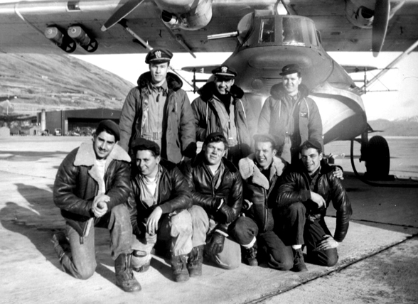 Ken Claypool and PBY Crew, Fall of 1944